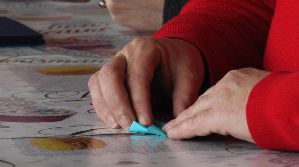 Atelier l'origami, Groupe d'entraide mutuelle (Gem) à Saint-Brieuc.