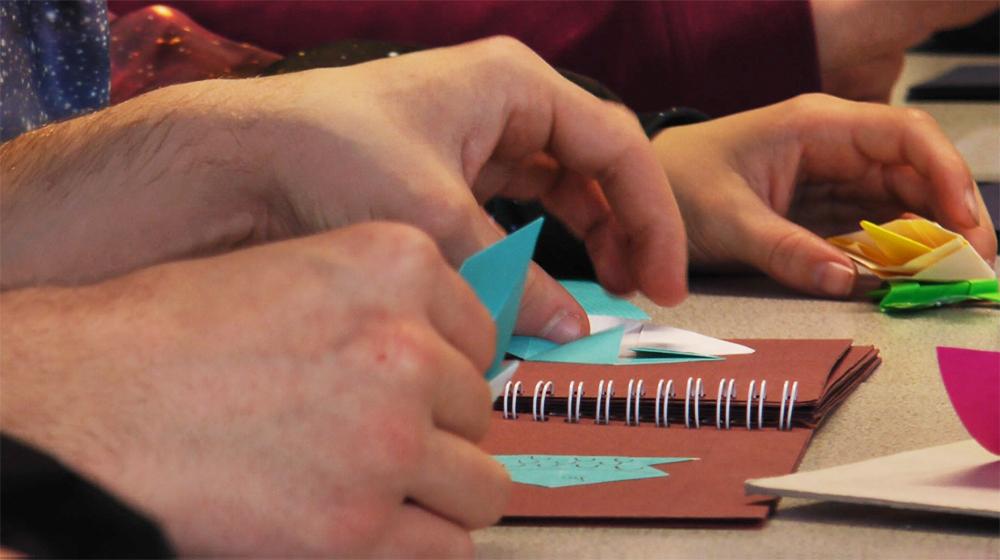 Atelier l'origami au service des apprentissages, 3e SEGPA collège Jean-Macé à Saint-Brieuc.