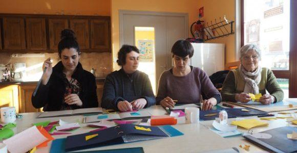 Bénévoles avec Idéographik Bretagne