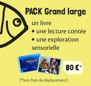 PACK GRAND LARGE Petite feuille rêve de Grand large