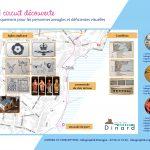 2019 02 Dinard plan du parcours adapté