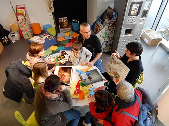 Salon Baie des livres, découverte en famille des livres adaptés