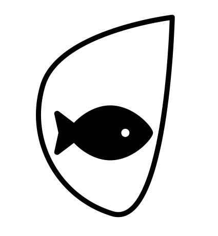 LOGO représentant un poisson lambda ayant peut-être des troubles invisibles