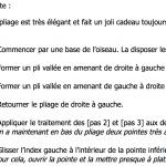 Description textuelle pour le pliage de la grue réalisée par Aveuglami
