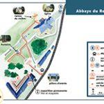 fichier PDF 1Mo plan zoom abbaye du Relec